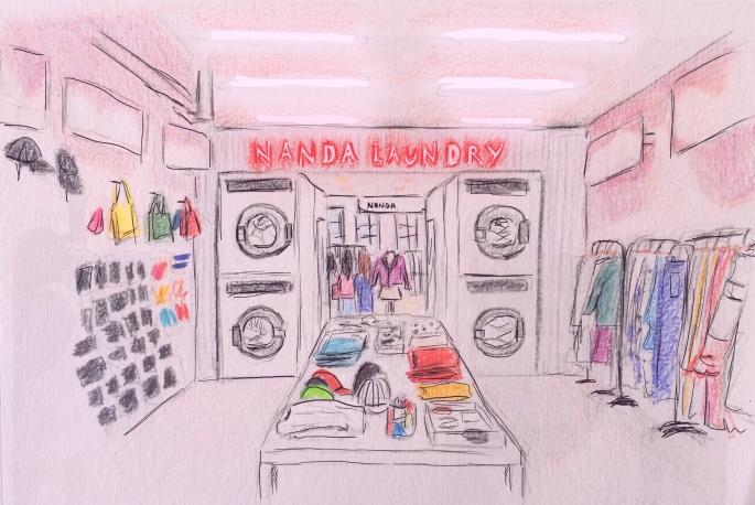 Laundry flagship