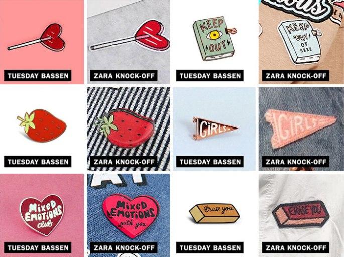 Zara et Tuesday Bassen
